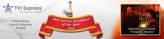 TVI wins Indonesian International Good Company Award