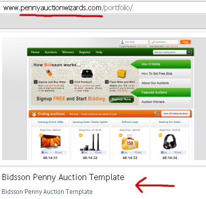 bidsson-template-penny-auction-wizards