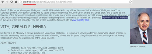 gerry-nehra-attorney-telexfree-usa-website