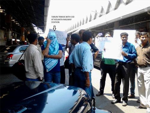 cid-and-tarun-trikha-arrested-kolkata-railway-station-india-tvi-express