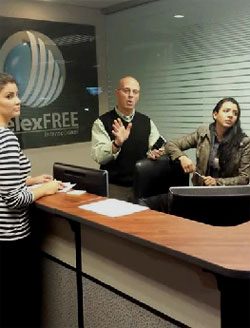 steve-labriola-telling-affiliates-to-go-away-telexfree-office-march-2014