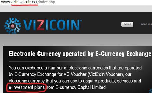 vizicoin-website-e-investment