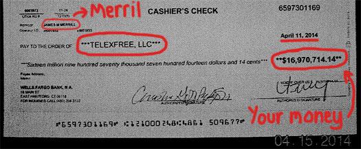 15-million-USD-cashiers-check-telefree-llc-april-2014