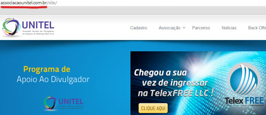 telexfree-promotion-unitel-association-website