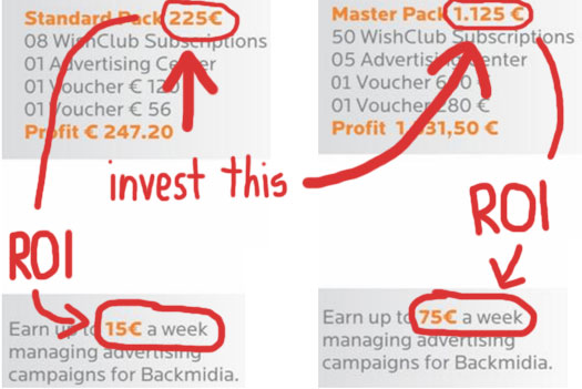 investment-returns-roi-wish-club-compensation-plan