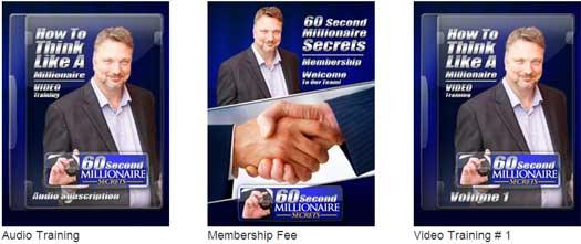 60-second-millionaire-secrets-product-line