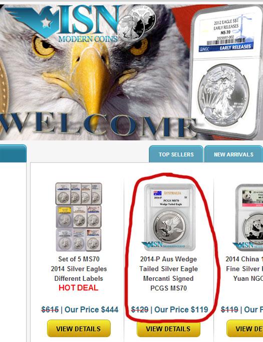 isn-coin-retail-example-price