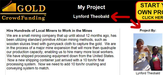 lynford-theobald-gold-crowdfunding-project