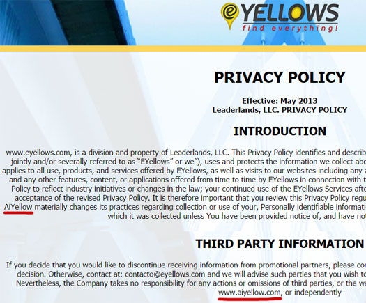 aiyellow-privacy-policy-eyellows