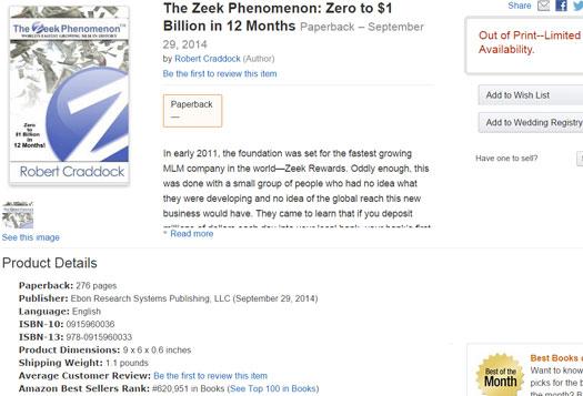 the-zeek-phenomenon-book-robert-craddock-amazon-listing
