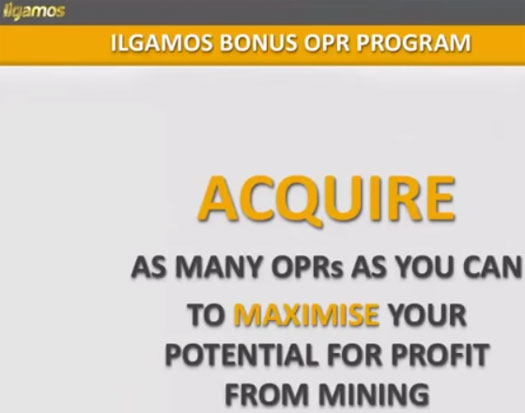 acquire-opr-points-ilcoins-ilgamos