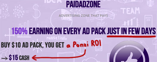 guaranteed-Ponzi-ROI-justa-few-days-paidadzone