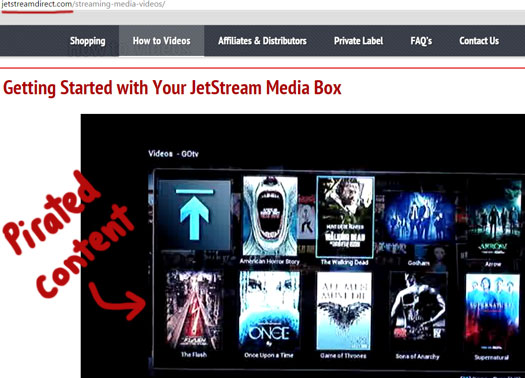 JetStream Direct Review: $499 stream-capable piracy boxes