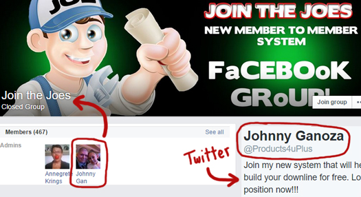 johnny-ganoza-average-joe-profit-system-facebook-twitter