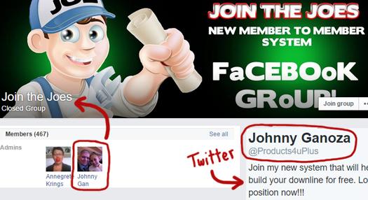johnny-ganoza-average-joe-profit-system-facebook-twitter