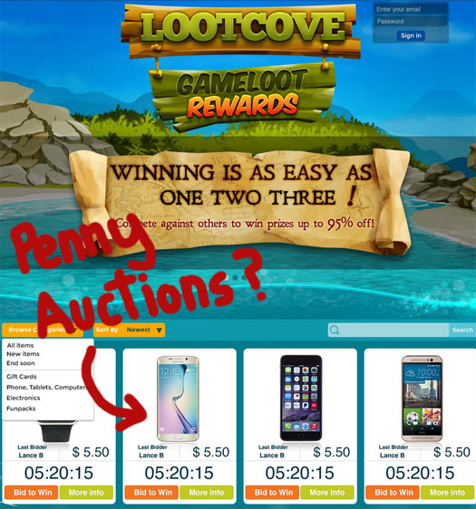 penny-auction-platform-game-loot-network