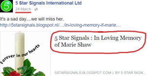 marie-shaw-death-notice-fraud-5-star-signals