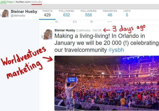 steinar-husby-promoting-worldventures-twitter-oct-2015