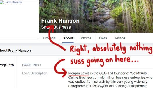 frank-hanson-fake-getmyads-bio