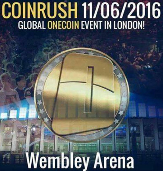coinrush-wembley-arena-promotion-onecoin