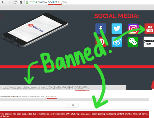 onelife-youtube-channel-banned-onecoin