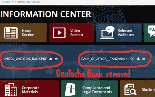 deutsche-bank-removed-onecoin-backoffice