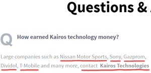 nissan-no-partnership-kairos-technologies