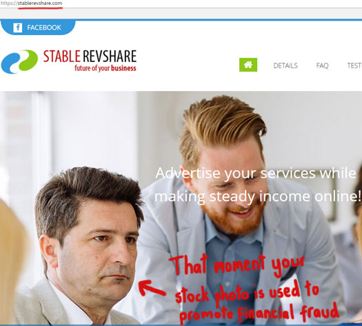 stock-photo-ponzi-fraud-stable-revshare