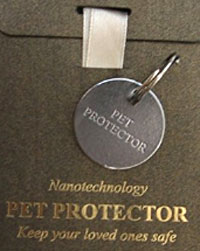 Pet Protector Review: Magnetic and Scalar wave pet parasite discs?