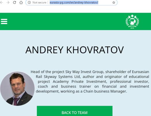 andrey khoratov executive skyway capital